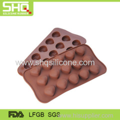 Wholesale high quality silicone chocolate mold tray