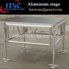 1.22 x 1.22 M aluminum portable stages