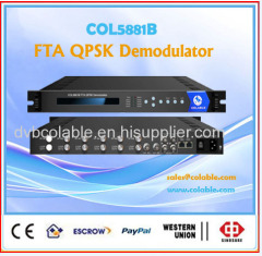 ATSC or ISDB-T 6 tuner customrized digital asi receiver FTA