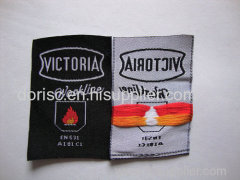 fire retardant woven label for fire resistant coveralls