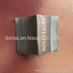 fire retardant woven label for coverall fire retardant