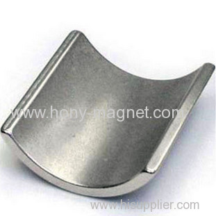 N42SH Grade Neodymium Magnet Arc