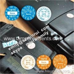 Warranty void if seal broken fragile date warranty stickers