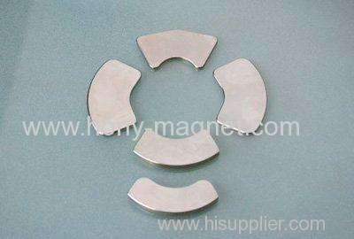 Hot sale permanent neodymium arc motor Magnet