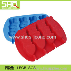 Hot sale heart shape silicone cake mould
