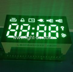 green oven display; green oven timer;multifunction digital timer system; 4 digit green led display