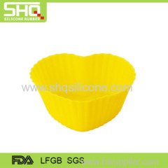 Food grade small heart shape silicone cake mold