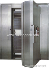 stainless steel treasury doors