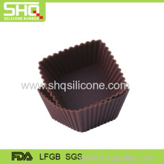 High quality silicone mini cake mold