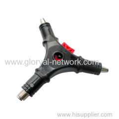 F connector installation tool (4 in tool)