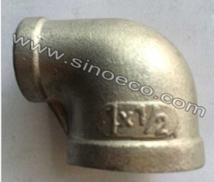 Stainless Steel Screwed Female Reducing Elbow Pipe Fitting