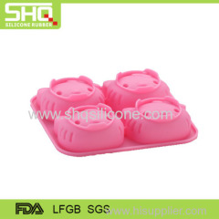 Hello Kitty shape silicone cake mold