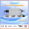 DVB-T modulator qam 4 in 1 rf out with ip mux