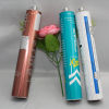 Collapsible aluminum Hair dye coloring tube packaging