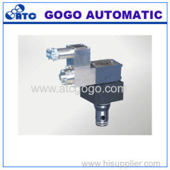 Explosion isolation proportional cartridge throttle valve