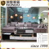 Convertible sofa with chaise sectional fabric sofa