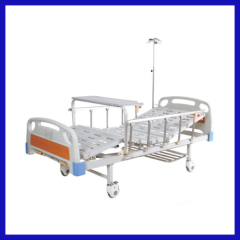 Manual drip stand for hospital bed 4 crank