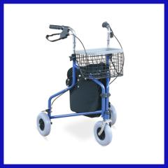 three wheeled shopping trolley walker