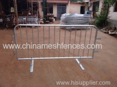 portable crowd control barrier hot-dipped galvanized crowd control barricade