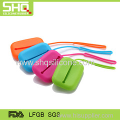 Fashionable silicone key case