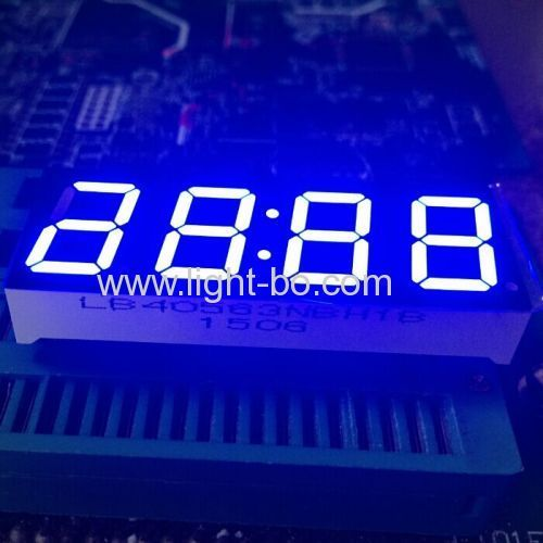 """0.56"""" 4 digit led clock display;4 digit 0.56"""" 7 segment clock"""
