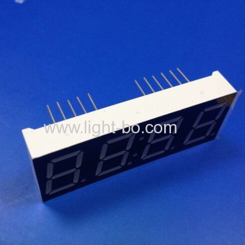 Ultra blue 0.56  4 digit 7 segment led clock display common cathode for clock indicator