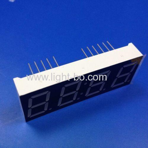 Ultra blue 0.56  4 digit 7 segment led clock display common cathode for clock indicator