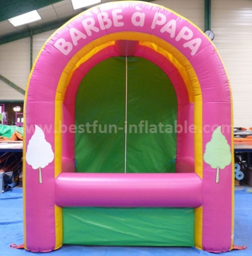 Cheap advertising inflatable booth tent for sale