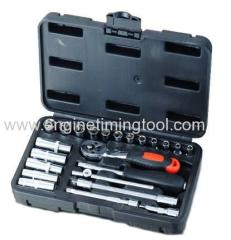 "1/4""DR 23PCS SOCKET SET E"