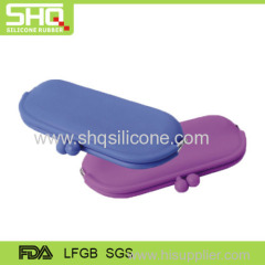 Multi-functional silicone coin purse for lady
