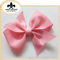 New pink baby girls hair bows
