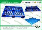 Custom Eco - friendly Heavy Duty Plastic Pallets , blue plastic pallets HDPE material