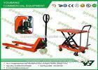 Small Platform hydraulic scissor lift trolley table 300kg with CE , GS