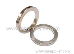 Ring shape strong neodymium magnet coating NI
