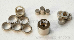Ring shape strong ndfeb magnet coating NI