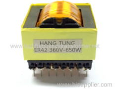 High frequency ER series switch transformer UL RoHS approved ER high frequency power transformer
