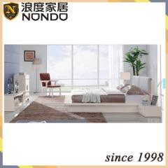 MDF bedroom furniture king size bed 5203