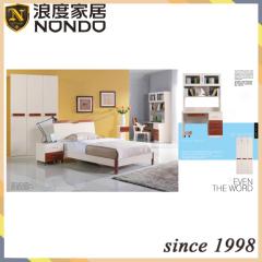 Modern bedroom furniture sets MDF bed room suite