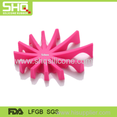 Customized design silicone rubber soap box