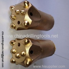Thread rock drilling bit