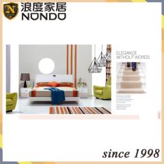 Wooden bed furniture designs bedroom sets 5124