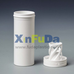 plastic effervescent tablet tube with spring cap