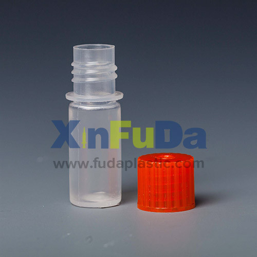 Plastic reagent bottle with screw cap