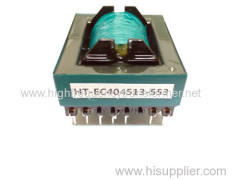 EI EP EE EC high frequency transformer in ferrite corecurrent by factory PCB mount