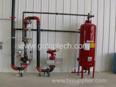 Druckschaum-Brandbekämpfung durch Schaumausrüstung