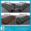 Stone Chip Coated Metal Roof Tile For Sale