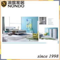 Modern bedroom furniture sets MDF bed 5111