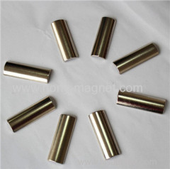 various size arc shape sintered neodymium magnet