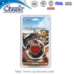 5ml scented oil membrane custom car air fresheners