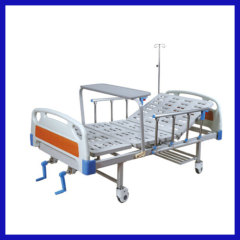 Double Swing Manual size hospital bed
